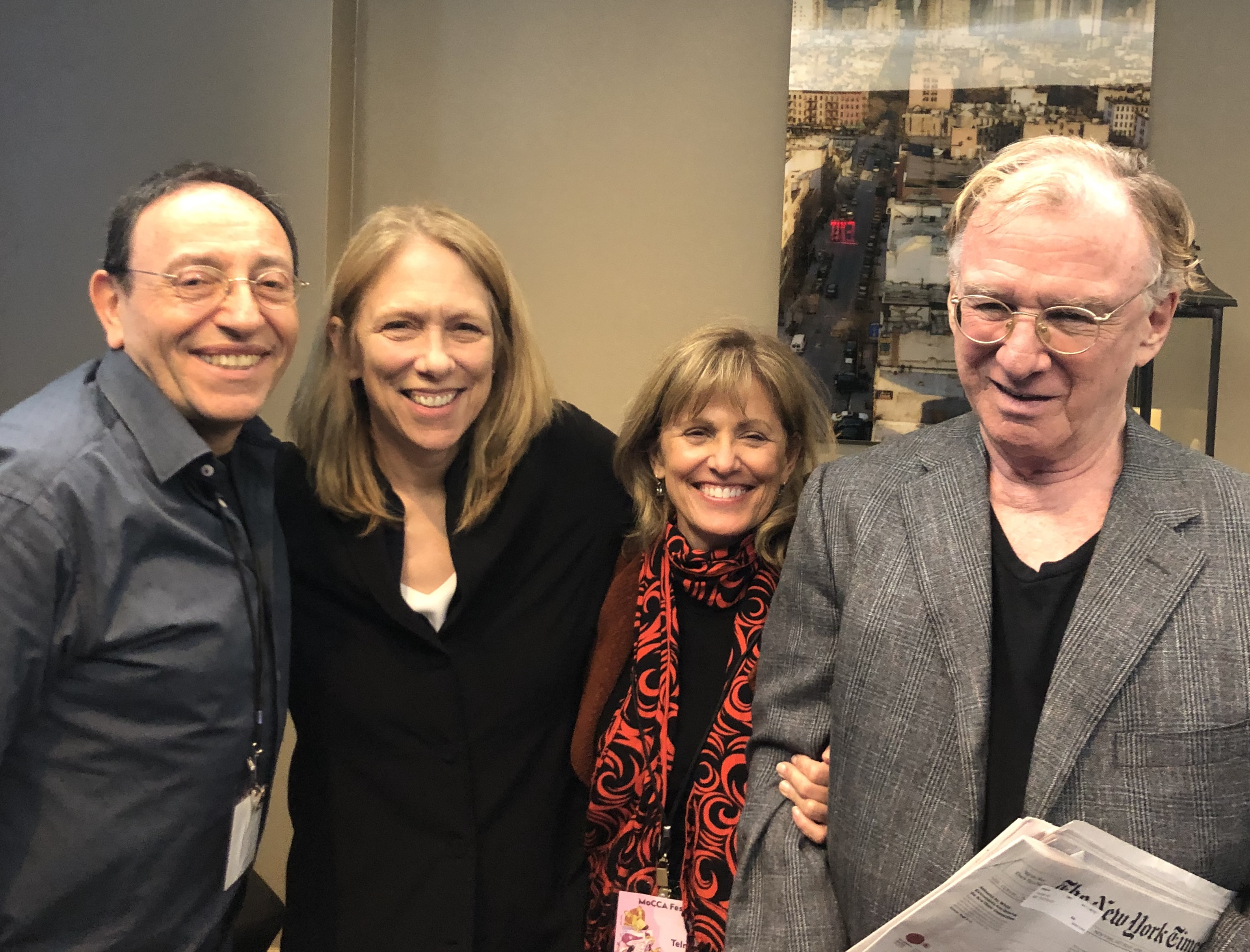 Michel Kichka (Israel), Liza Donnelly (United States), Ann Telnaes (United States) & Jeff Danziger (United States)