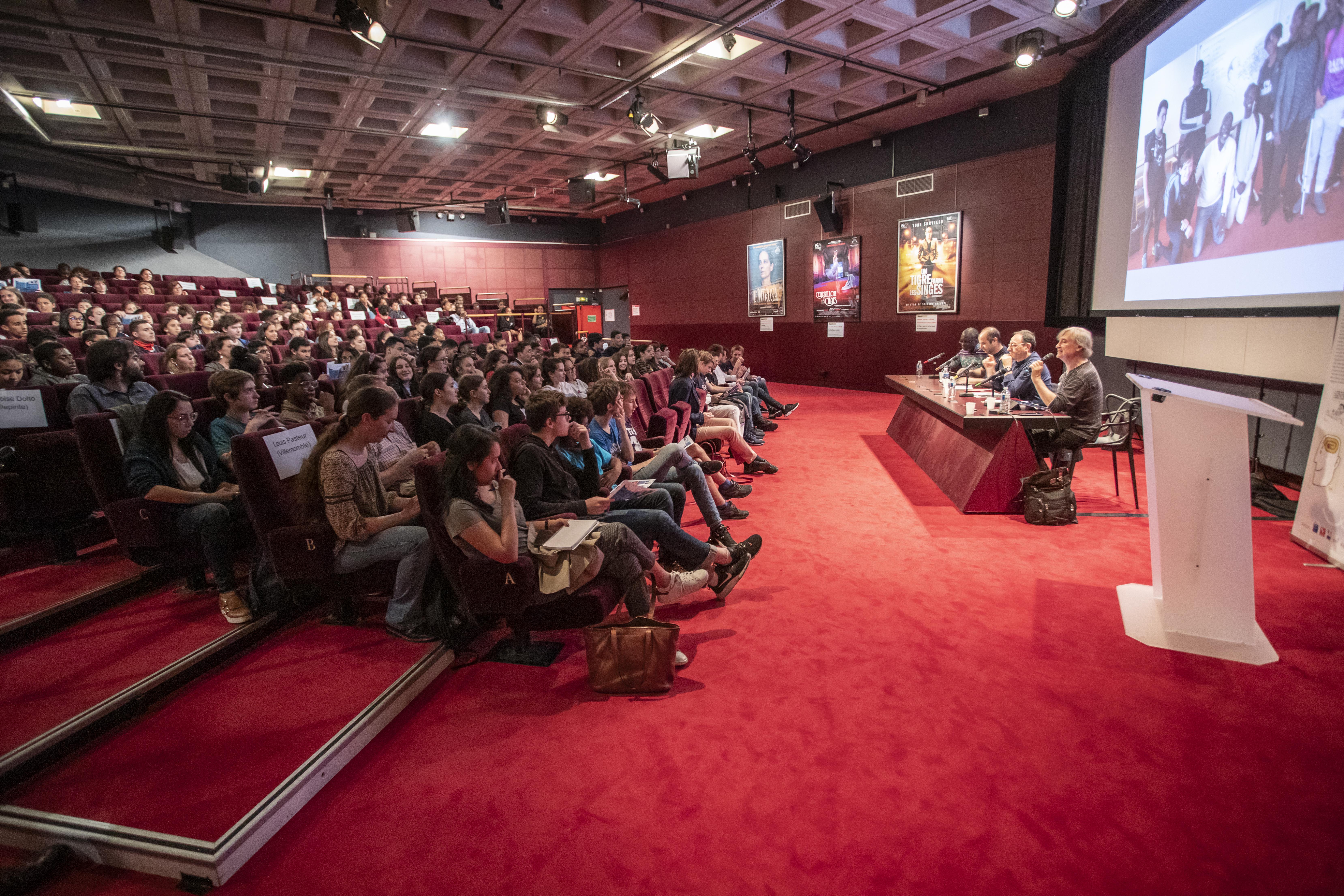 """Conférence annuelle """"Libérons les crayons"""" – crédit : Nicolas Moulard"""