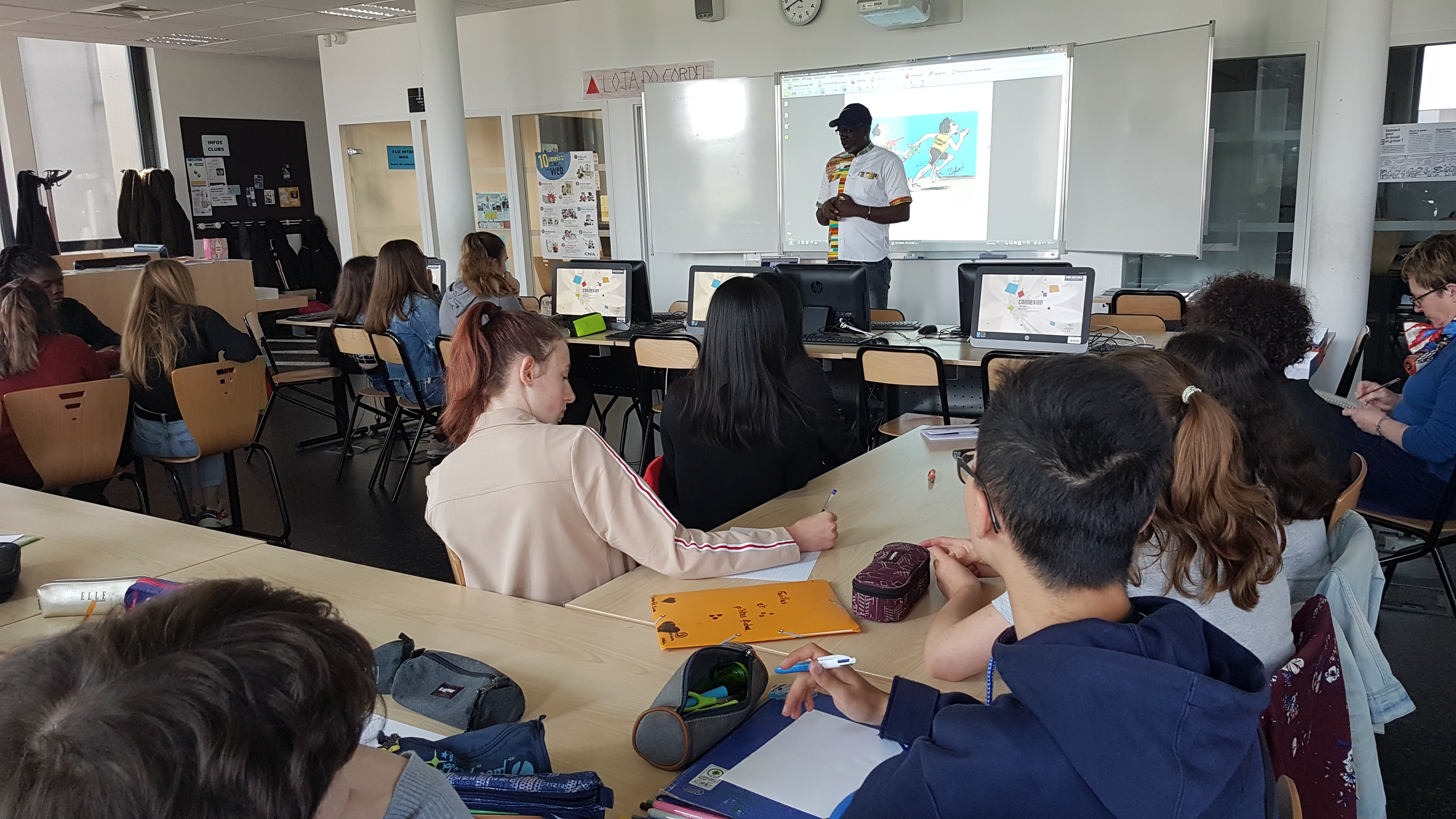 Lassane Zohoré (Côte d'Ivoire) – Collège international de l'est parisien de Noisy le Grand