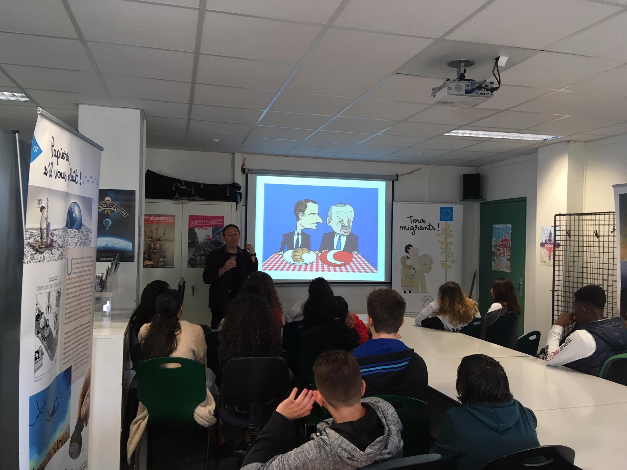 Michel Kichka – Collège Langevin Wallon Rosny-sous-Bois – 2