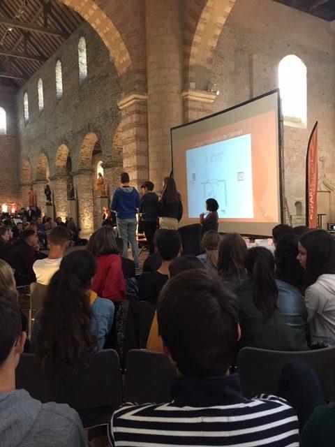 Conférence avec les dessinateurs de presse Z (Tunisie) et Red ! (France)