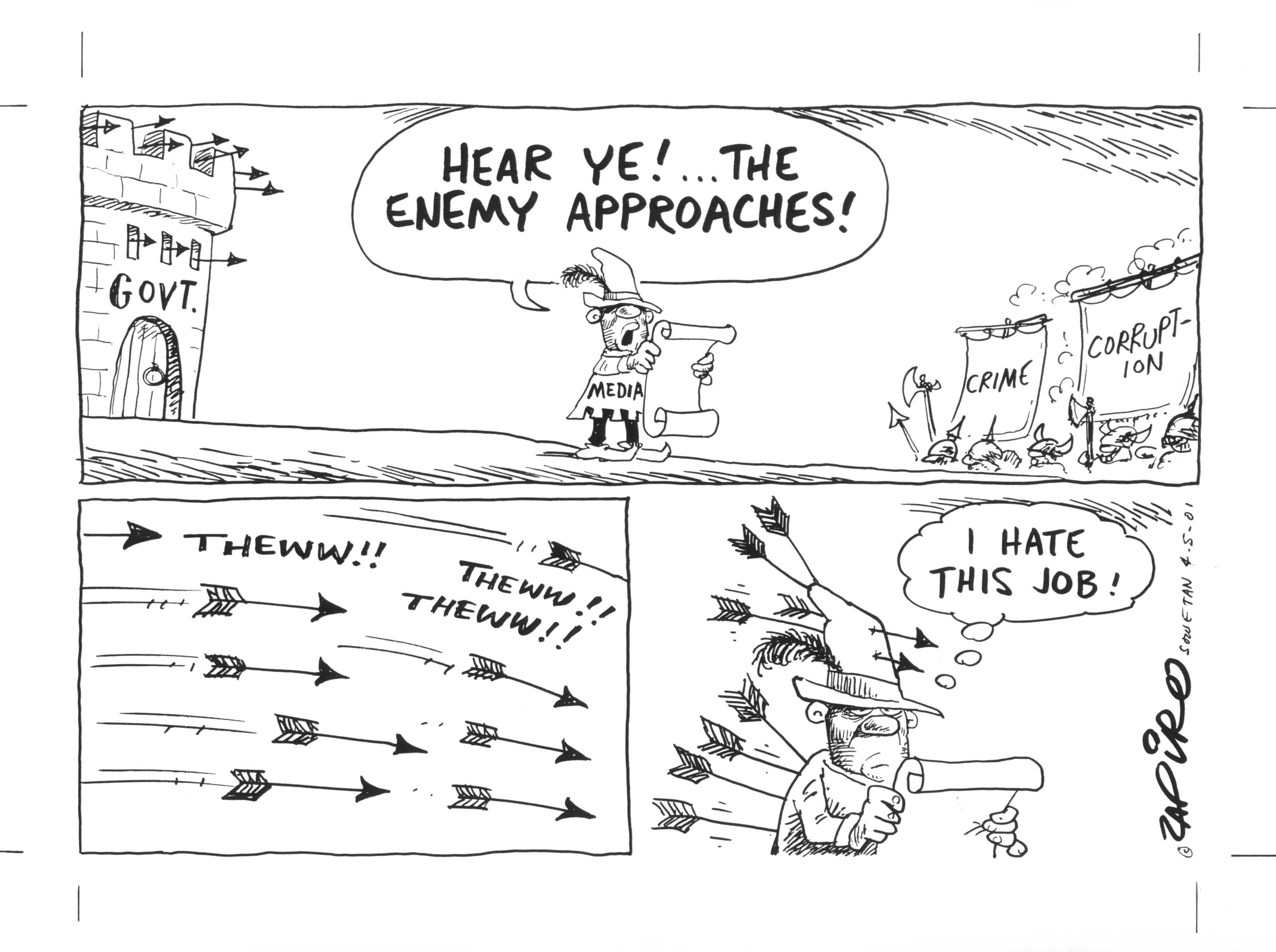 Zapiro (Afrique du Sud/South Africa)