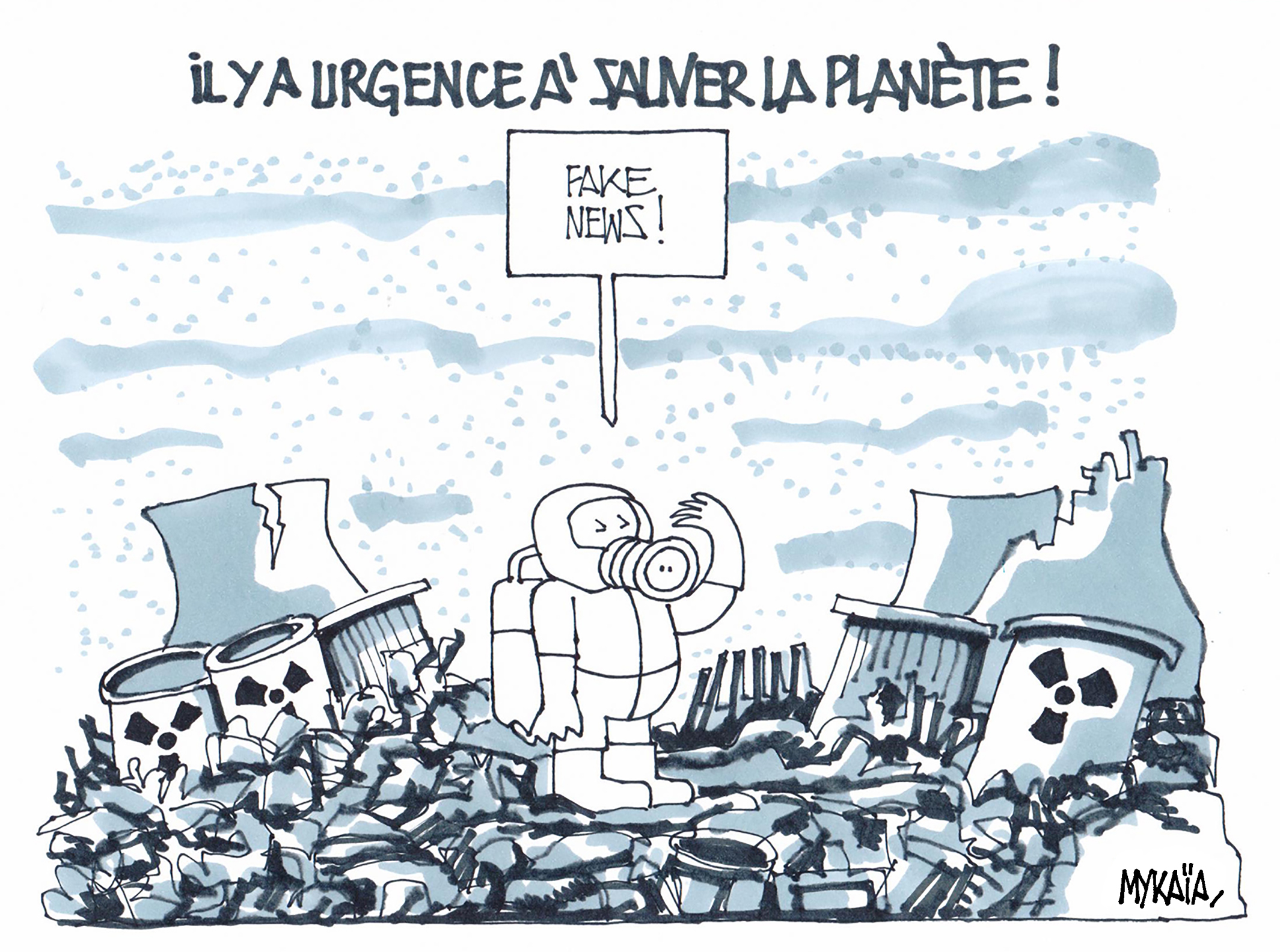 MYKAÏA-FRANCE-CARTOONING FOR PEACE