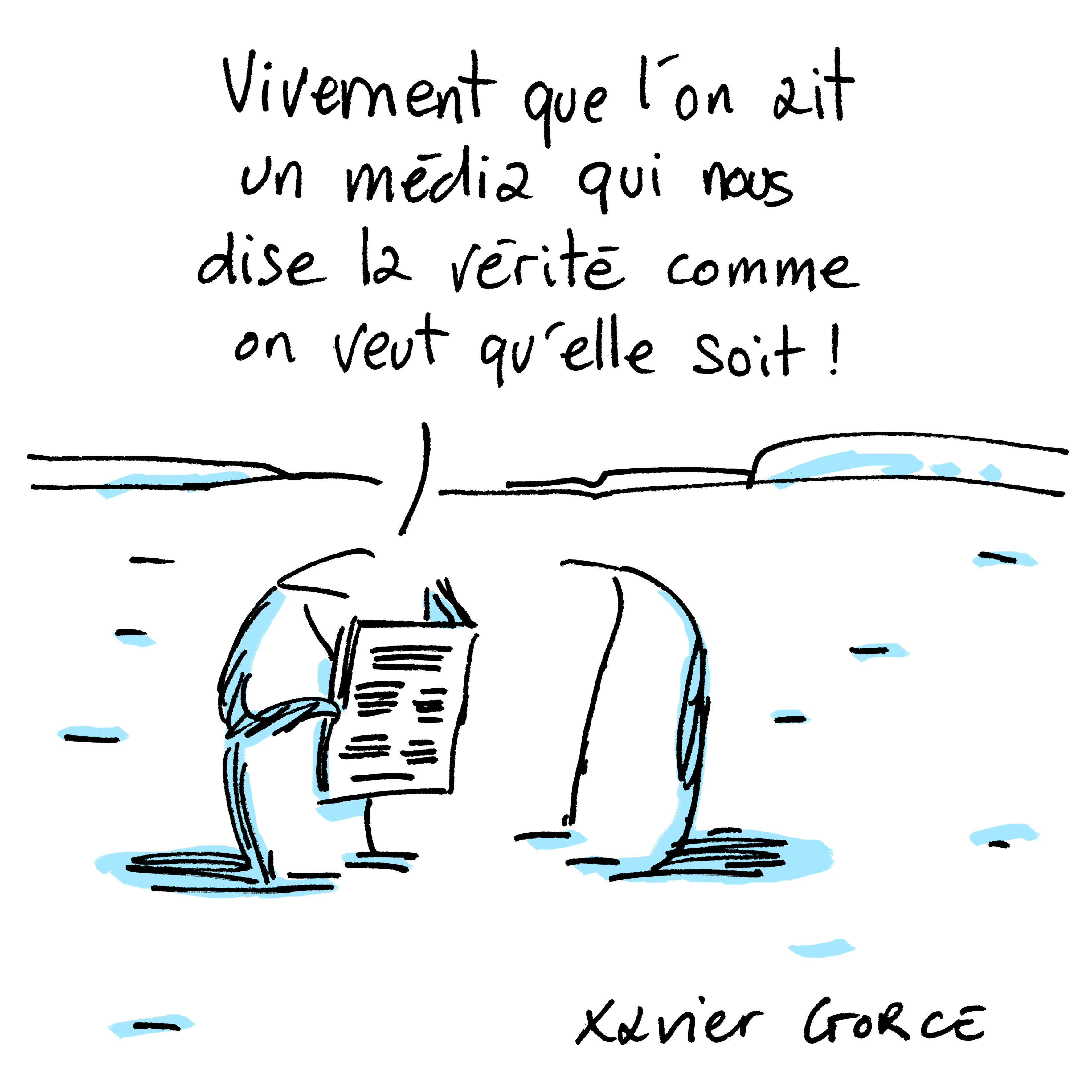 XAVIER GORCE-FRANCE-CARTOONING FOR PEACE