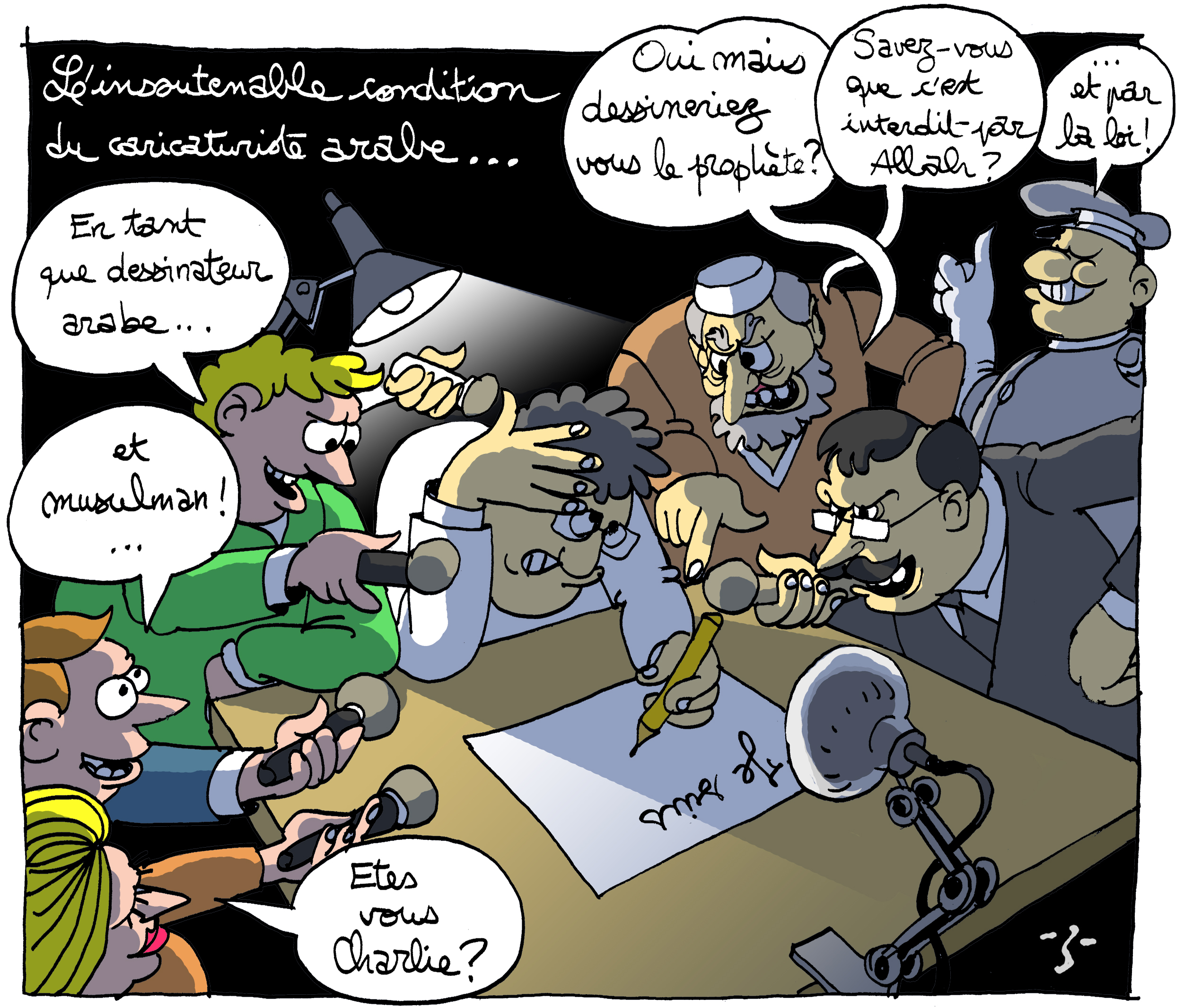 Z-TUNISIE-CARTOONING FOR PEACE