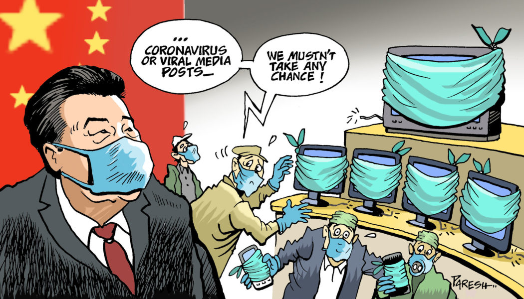 Coronavirus: a deadly epidemic - Cartooning for Peace