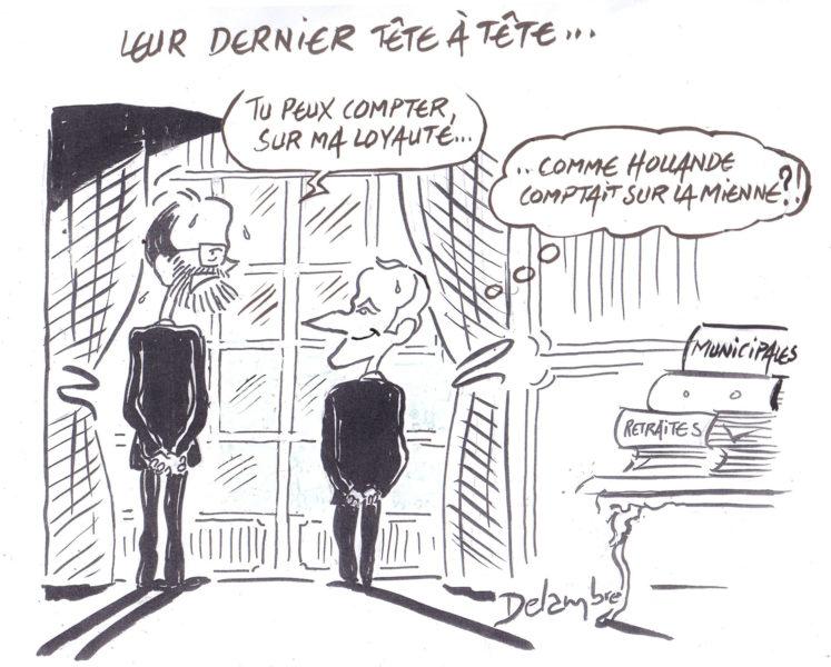 Delambre (France), Le Canard enchaîné