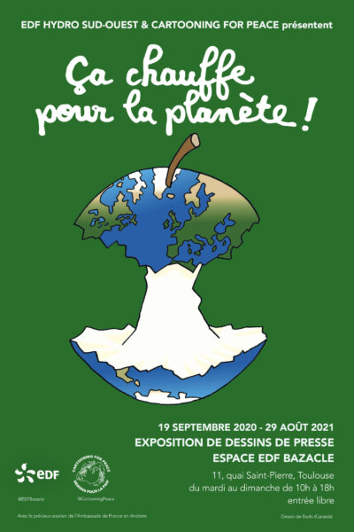 """It's getting warmer for the planet!"" at EDF Bazacle Complex"