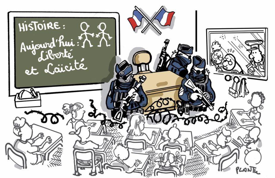 Plantu (France), Le Monde