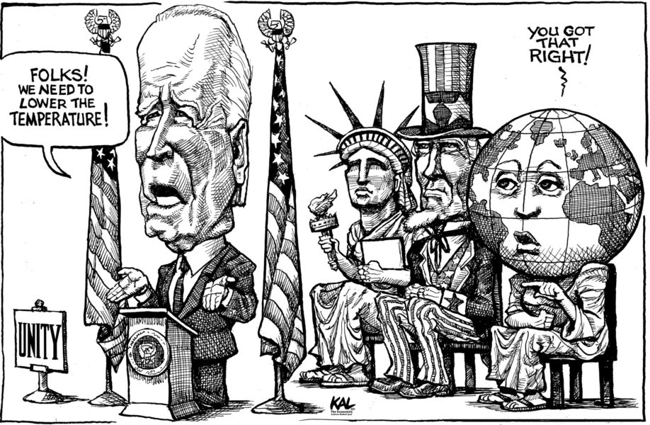 Kal (Etats-Unis / USA), The Economist