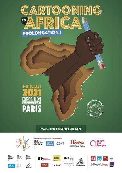 Cartooning in Africa – Exposition prolongée jusqu'au 18 juillet !