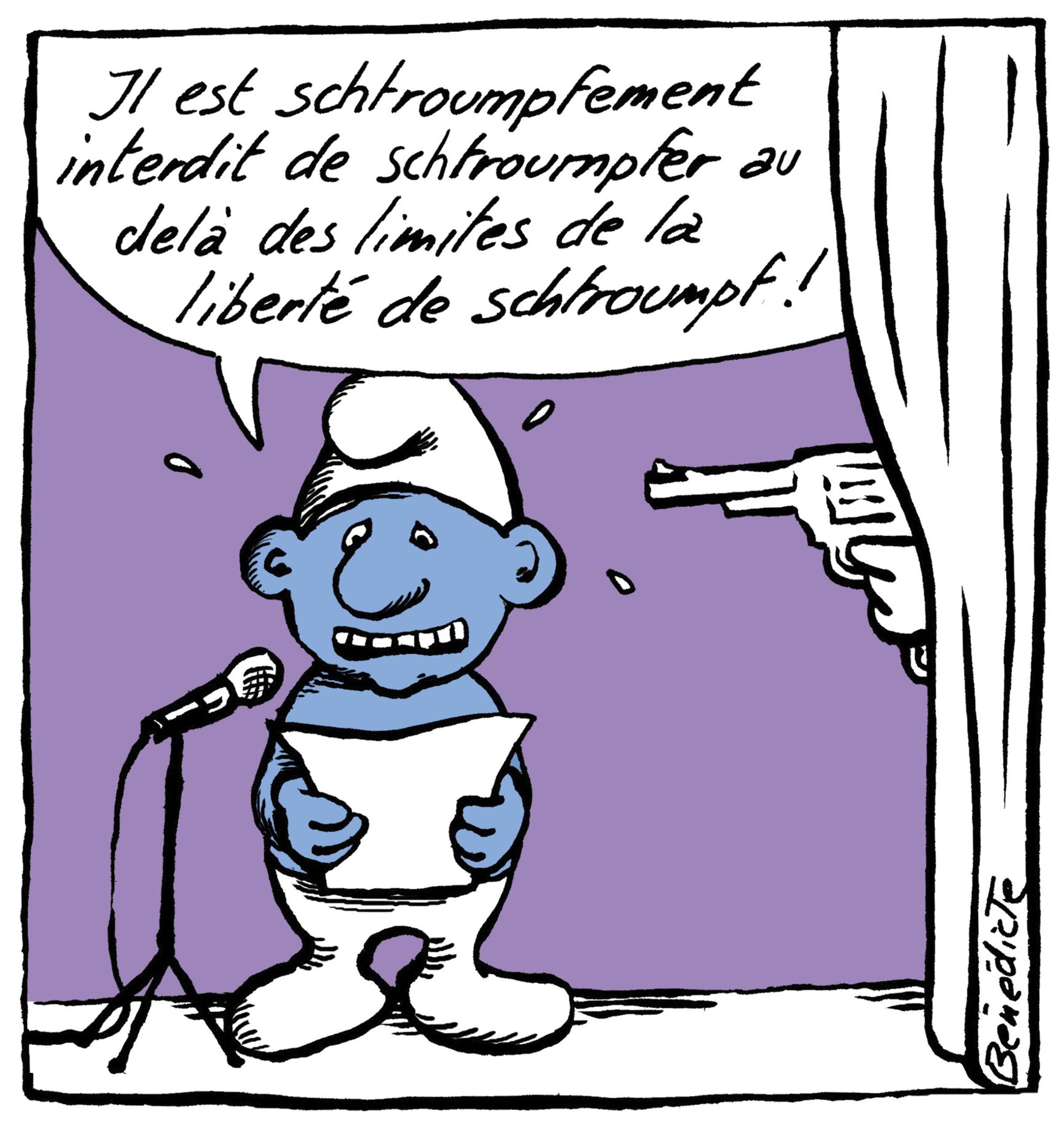 Bénédicte (Suisse) – Cartooning for Peace