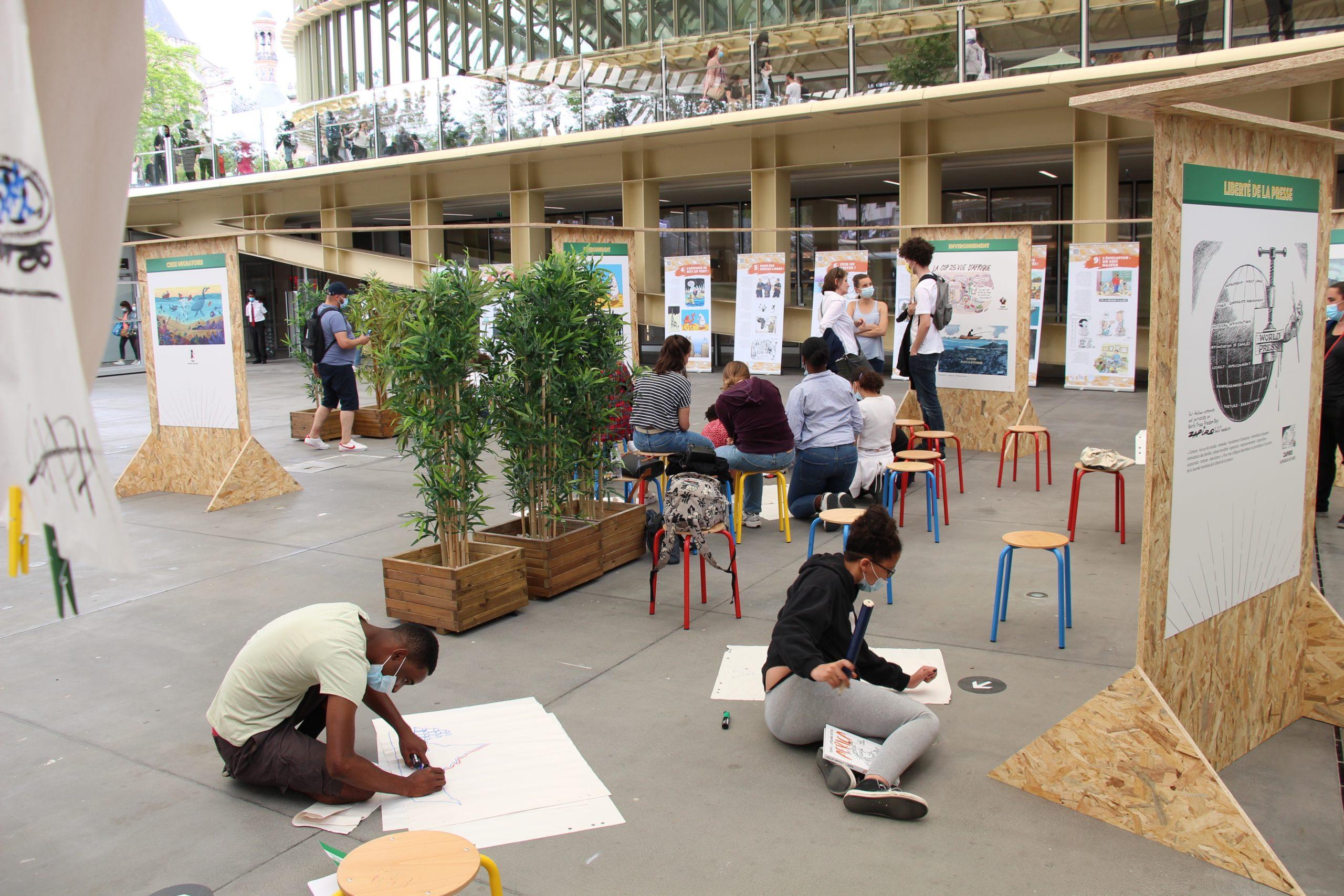 Les ateliers pédagogiques autour de l'exposition