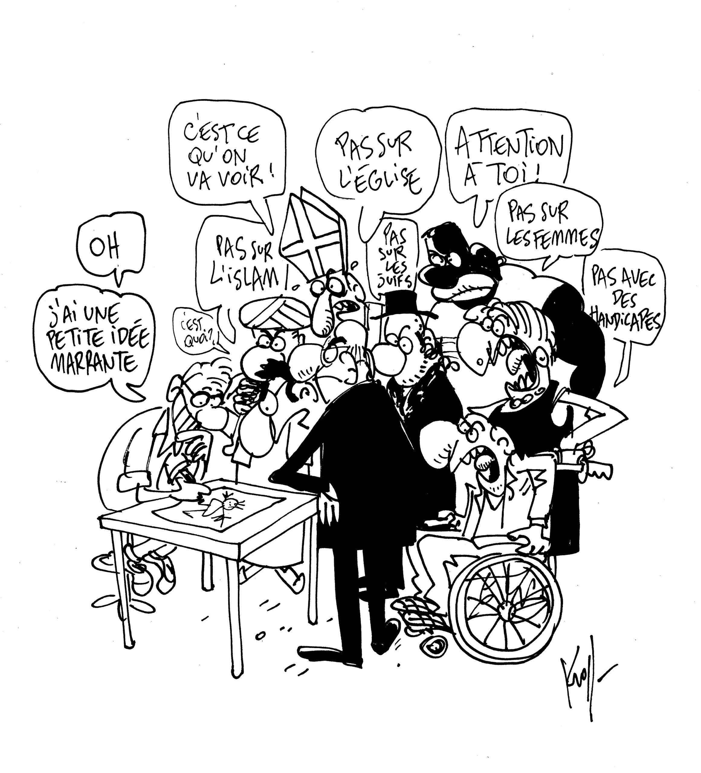 Kroll (Belgique) – Cartooning for Peace)