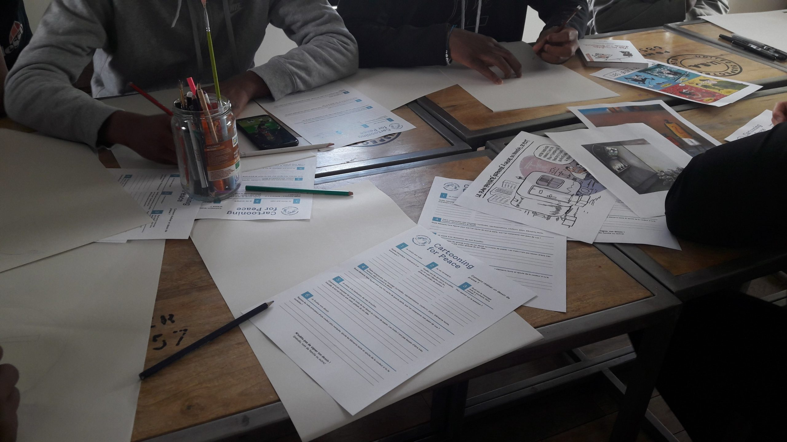 atelier-rencontre dans le cadre du projet «Ca march au Zénith»
